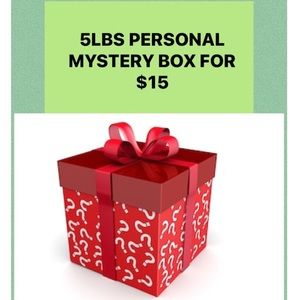 5 lbs Personal Mystery Box for $15